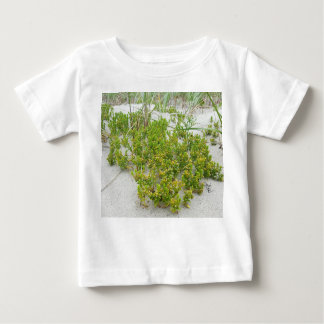 Green plants at the beach baby T-Shirt