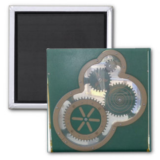 Green Playground Gears Magnet