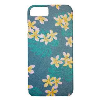 Green Plumeria Hawaii iPhone 7 Case