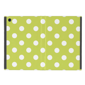 Green Polka Dot Pattern Cover For iPad Mini