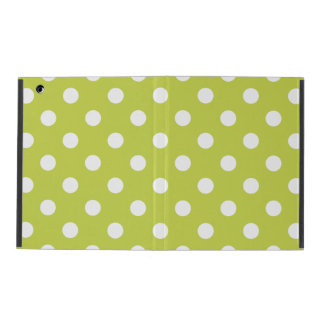 Green Polka Dot Pattern Covers For iPad