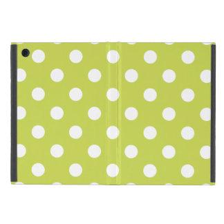 Green Polka Dot Pattern iPad Mini Case