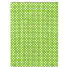 Green Polka Dot Pattern Tablecloth