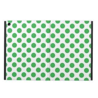 Green Polka Dots Cover For iPad Air
