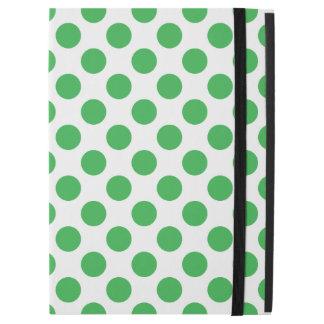 "Green Polka Dots iPad Pro 12.9"" Case"