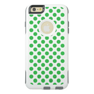 Green Polka Dots OtterBox iPhone 6/6s Plus Case