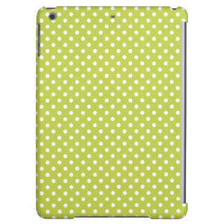 Green Polka Dots Pattern Case For iPad Air