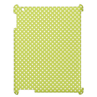 Green Polka Dots Pattern Cover For The iPad 2 3 4