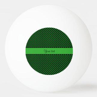 Green Polka Dots Ping Pong Ball