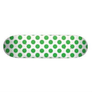 Green Polka Dots Skateboards