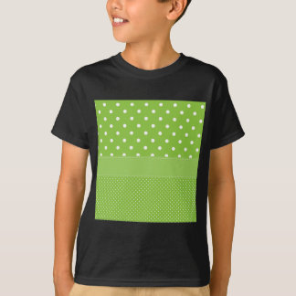 Green Polka-dots T-Shirt