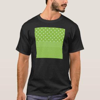 Green Polka-dots T-Shirt