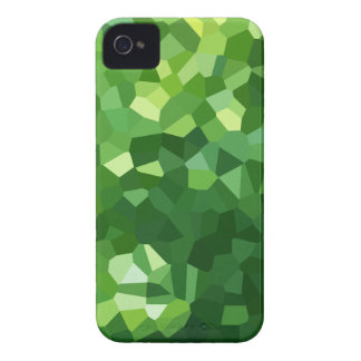Green Polygon Shape Stained Glass Mosaic Abstract iPhone 4 Case