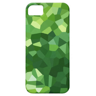 Green Polygon Shape Stained Glass Mosaic Abstract iPhone 5 Cases