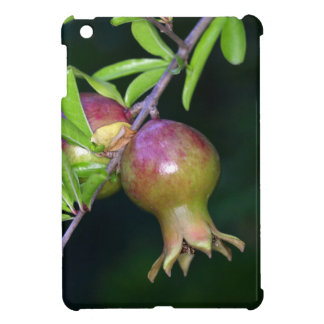 Green pomegranate fruit iPad mini case