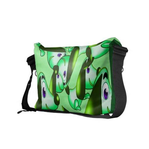 green pooch commuter bag