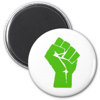 Green power 2 inch round magnet