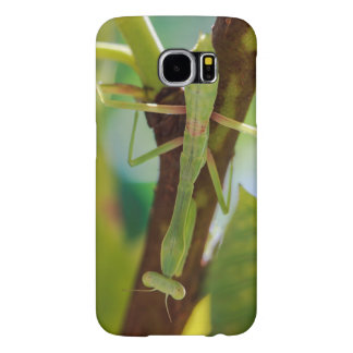 Green Praying Mantis Galaxy S6 Phone Case Samsung Galaxy S6 Cases