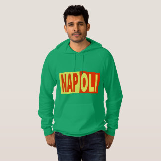 Green Pullover with hood NAPOLI ITALIA