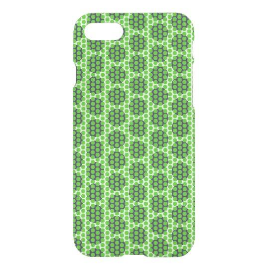 Green Purple Dot Geo Deflector iPhone 8/7 Case