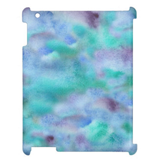 Green Purple Glossy iPad Case