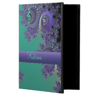 Green Purple Music Fractal iPad Air 2 Case