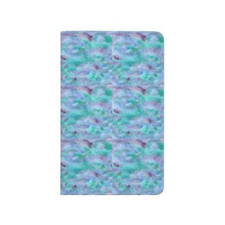 Green Purple Watercolor Pocket Journal