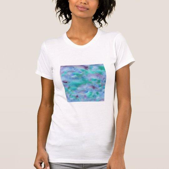 Green Purple Watercolor Women's Jersey T-Shirt
