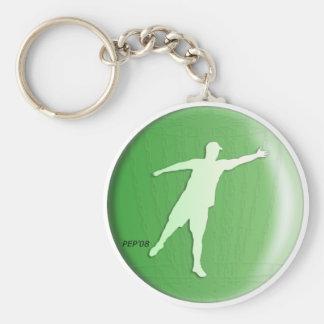 Green Putter Keychain