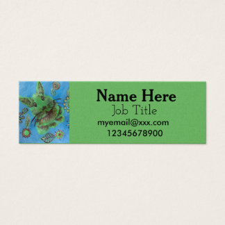 green rabbit business card