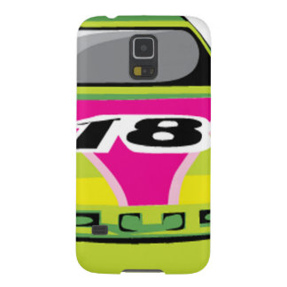 green race car cases for galaxy s5