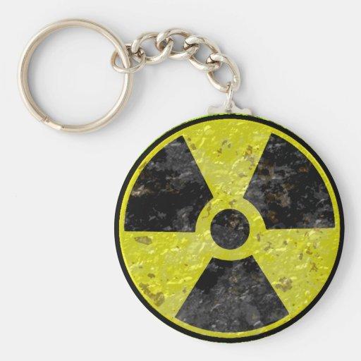 Green Radiation Keychain