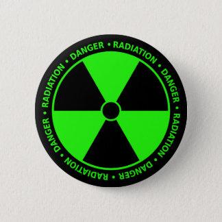 Green Radiation Warning Button
