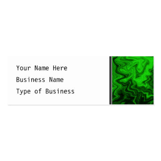 Green Random Abstract. Business Card