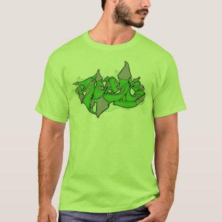 Green Rase Graffiti T-Shirt