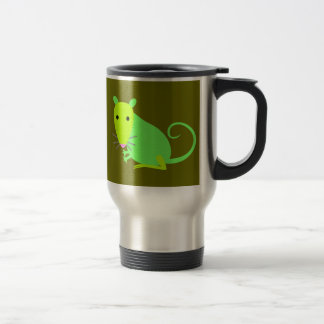 Green Rat Travel Mug