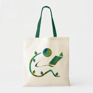 Green Reader Bag