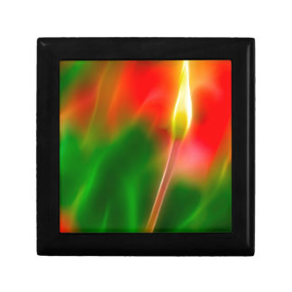 Green, Red and Yellow Tulip Glow Gift Box