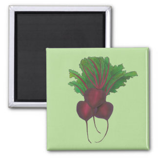 Green Red Beet Beetroot Vegetable Garden Kitchen Magnet