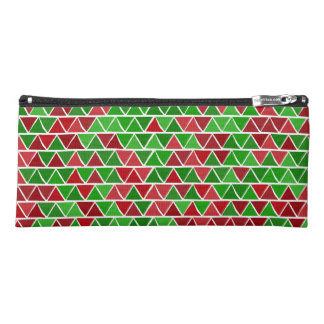 Green red pattern Pencil Case