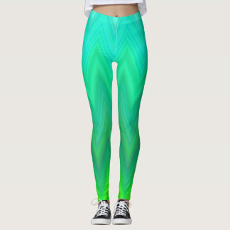 Green Reef Leggings