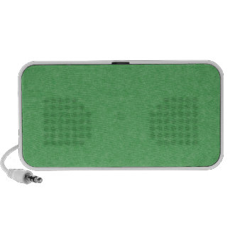 Green Retro Cardboard Colorful Texture Pattern Travel Speakers