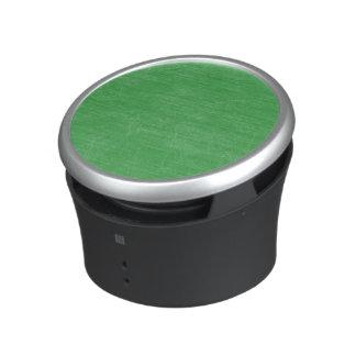 Green Retro Grunge Scratched Texture Bluetooth Speaker