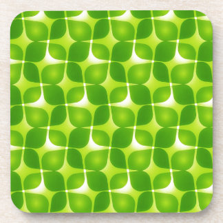 Green Retro Style Coaster