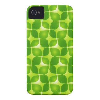 Green Retro Style iPhone 4 Case-Mate Cases