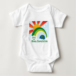 Green Revolution Baby T-shirts
