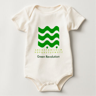 Green Revolution - Start it with Kids Baby Creeper