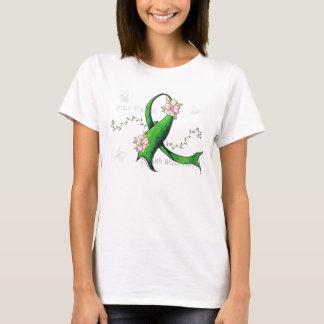 Green Ribbon Lyme Disease Womens TShirt