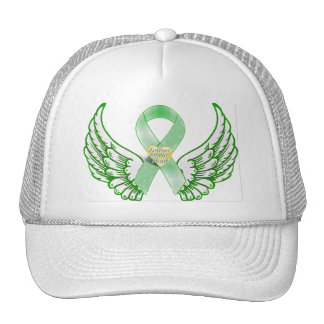 Green Ribbon & Wings,Forever in our Hearts_ Trucker Hat