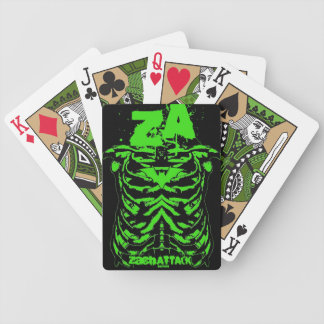 Green Ribs Bicycle Playing Cards